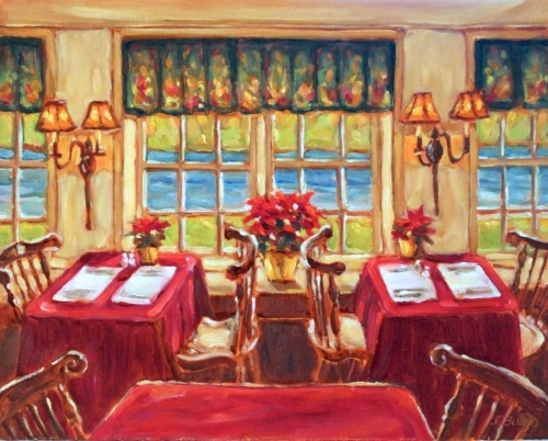 Breakfast Room, 1740 House, Lumberville, PA