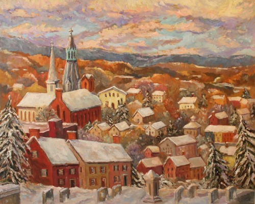 Lambertville Overlook III - Winter