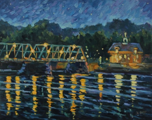 Riverside Twilight