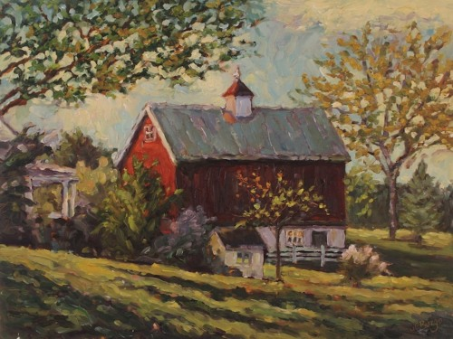 Farm in Fall (Newtown)