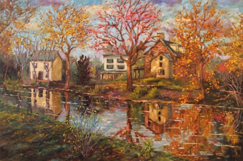 Canal in Fall