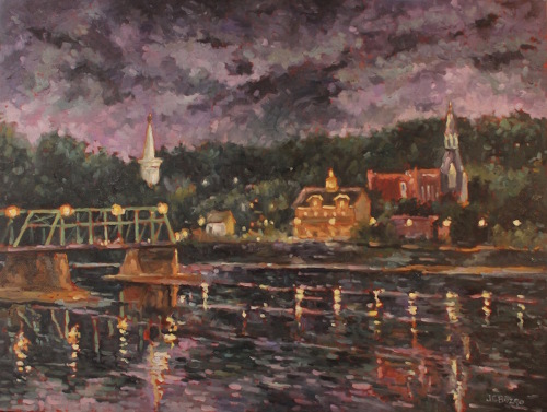 Lambertville Twilight II (large view)