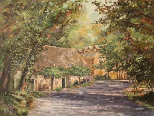 Phillips' Mill II (In Bloom)