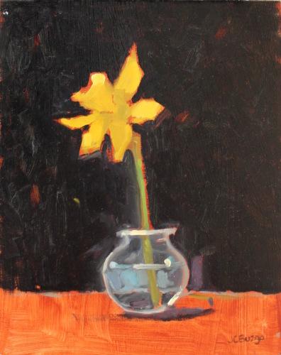Daffodil in Vase I