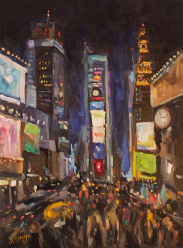 Times Square at Night I