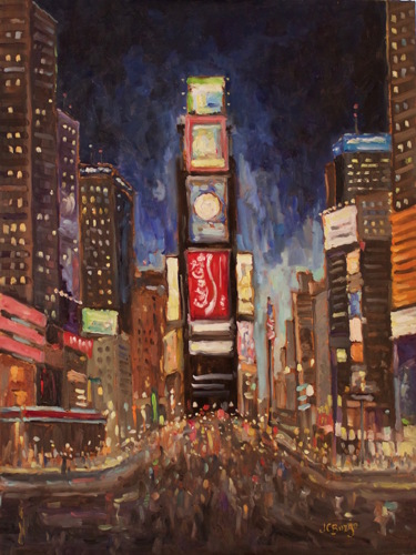 Times Square at Night II