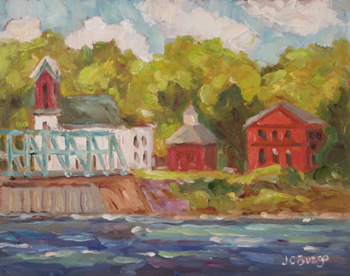 New Hope - Lambertville Bridge VI
