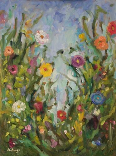 Garden Mix II by Jean Childs Buzgo