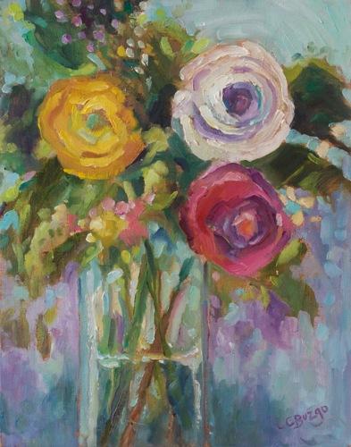 Floral Trio
