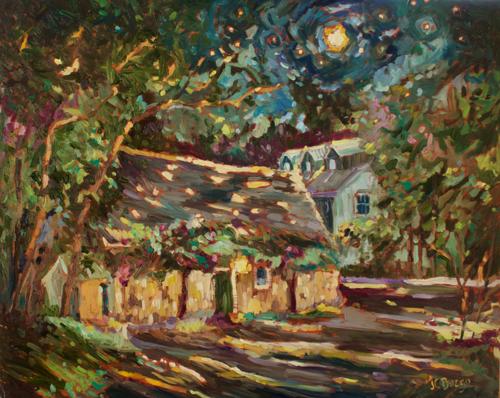 Phillips Mill Moonlight