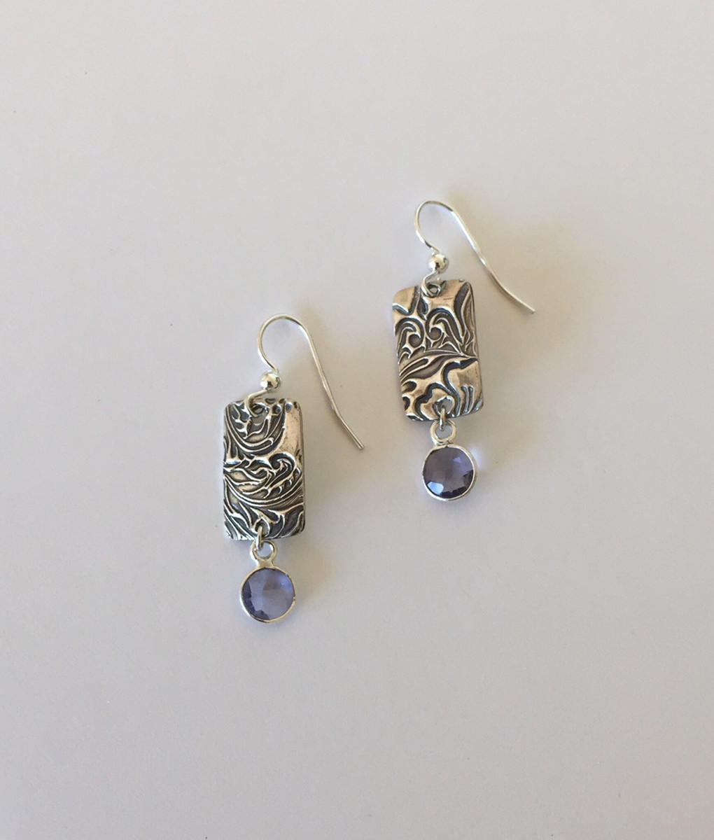 Amethyst Dangles (large view)