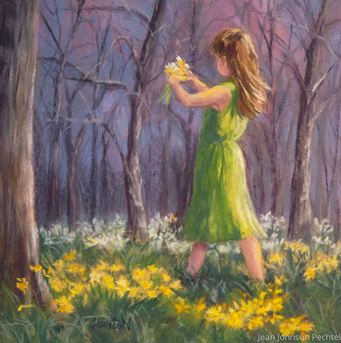 Daffodil Girl (large view)