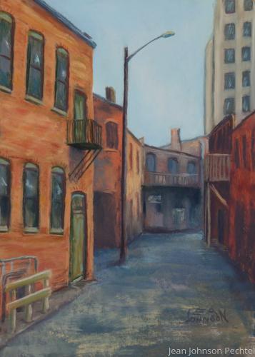 Alley, Spring Street