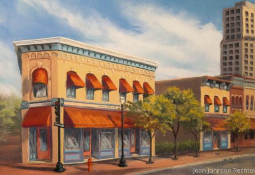 17-27 N. Grove by Jean Johnson Pechtel, Artist