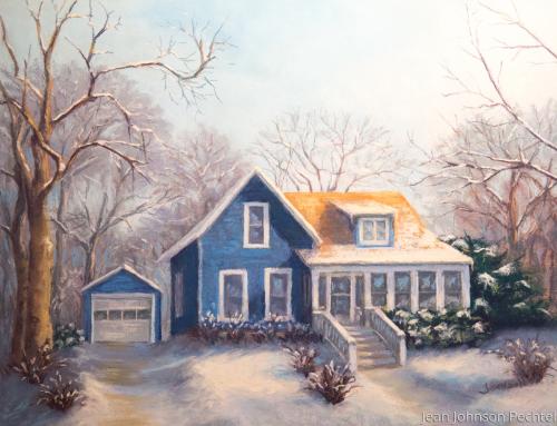 27 Hill St. by Jean Johnson Pechtel, Artist