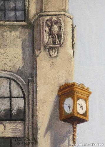 Elgin Tower Detail