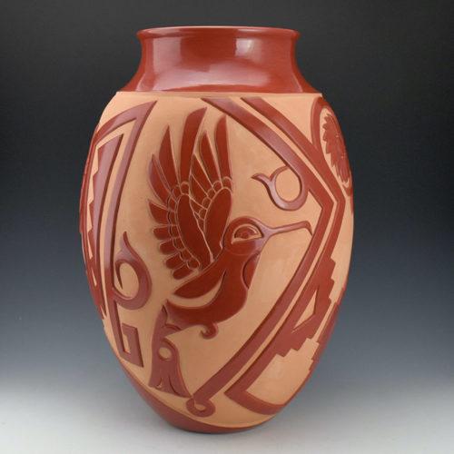 Hummingbird by Ebelacker Family Pottery