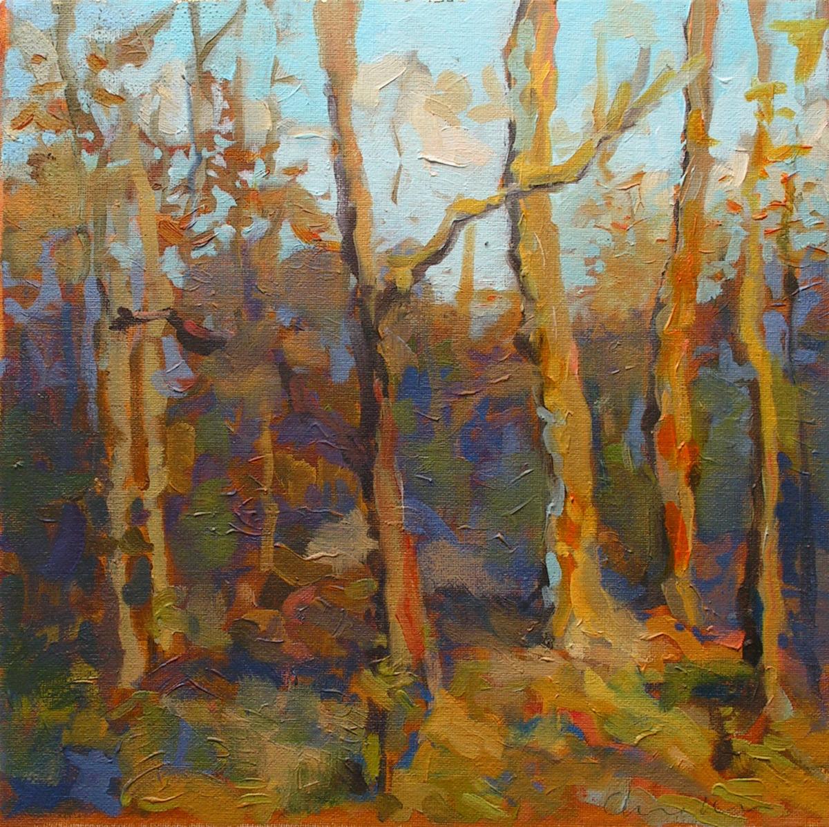 Poconos Autumn Woods (large view)