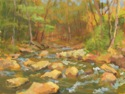 Cold Creek, Sergeantsville, Early Spring (thumbnail)