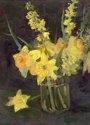 Daffodils and Forsythia (thumbnail)