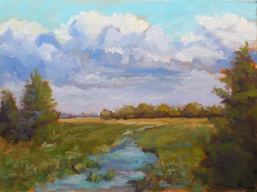 April Meadow by Jeffrey Charlesworth