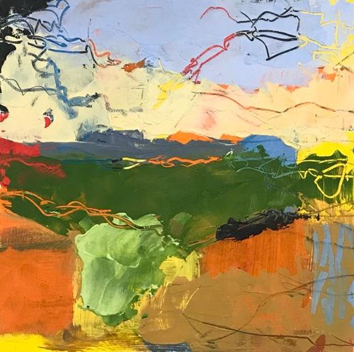 Summer Skies 5 by Jeffrey Charlesworth