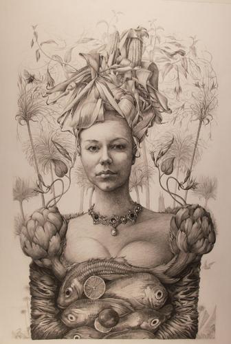 Corn Husk Girl (large view)