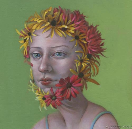 Flower Warrior by Jennifer Knaus