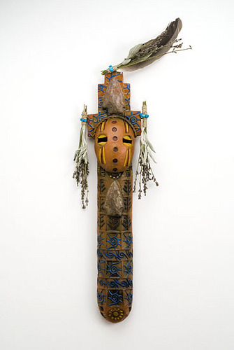 """Arrowhead"" Kachina (large view)"