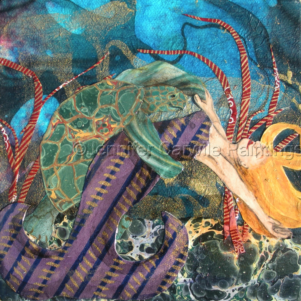 Sea Turtle Tango (large view)