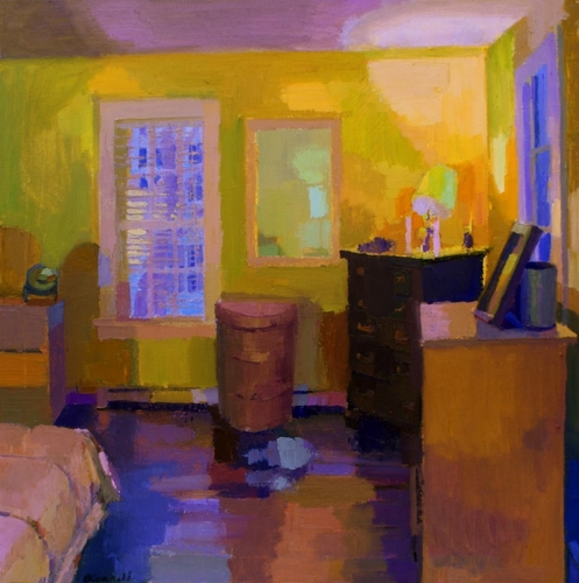 Yellow Bedroom (large view)