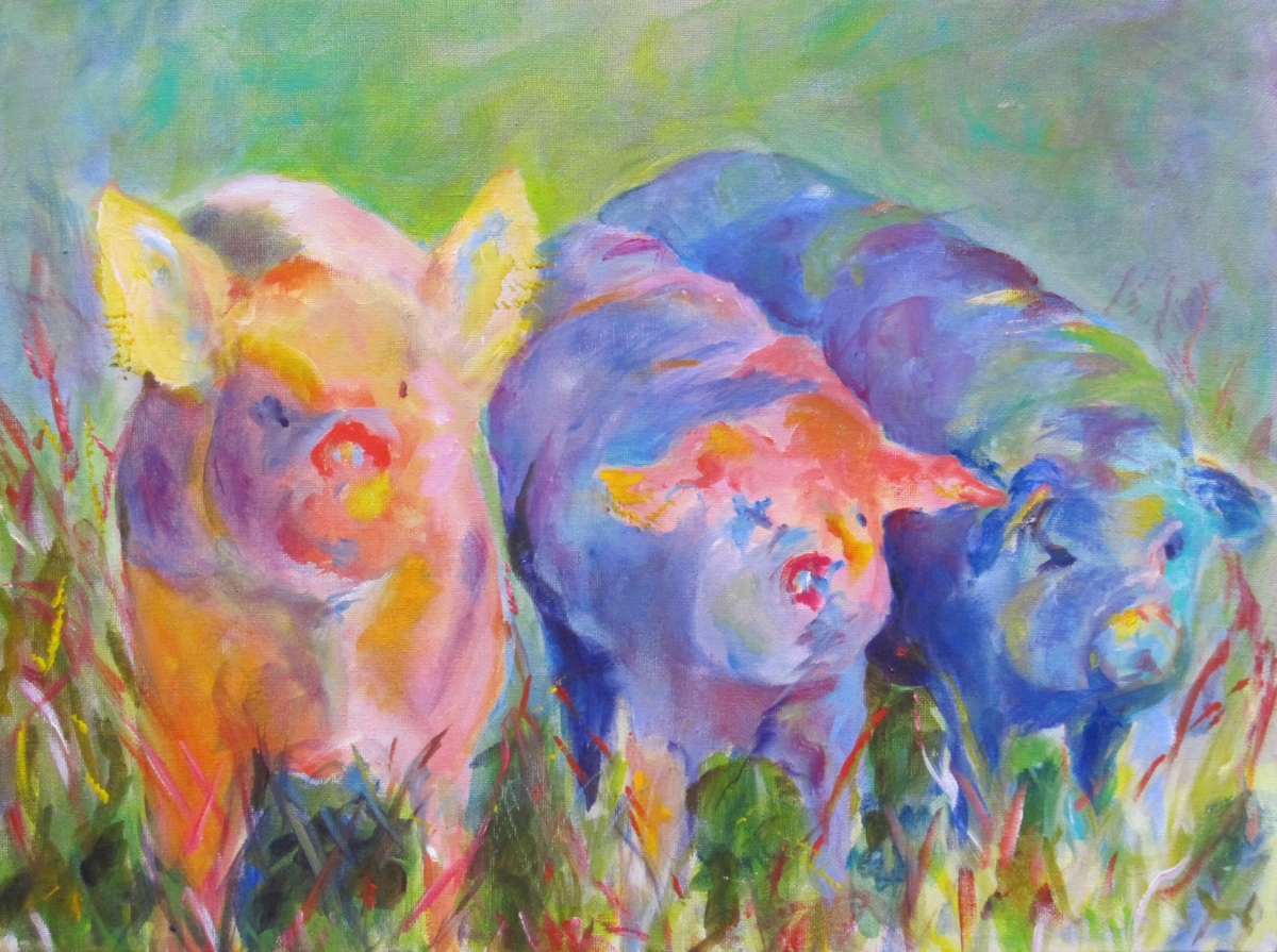 Three Little Pigs (large view)