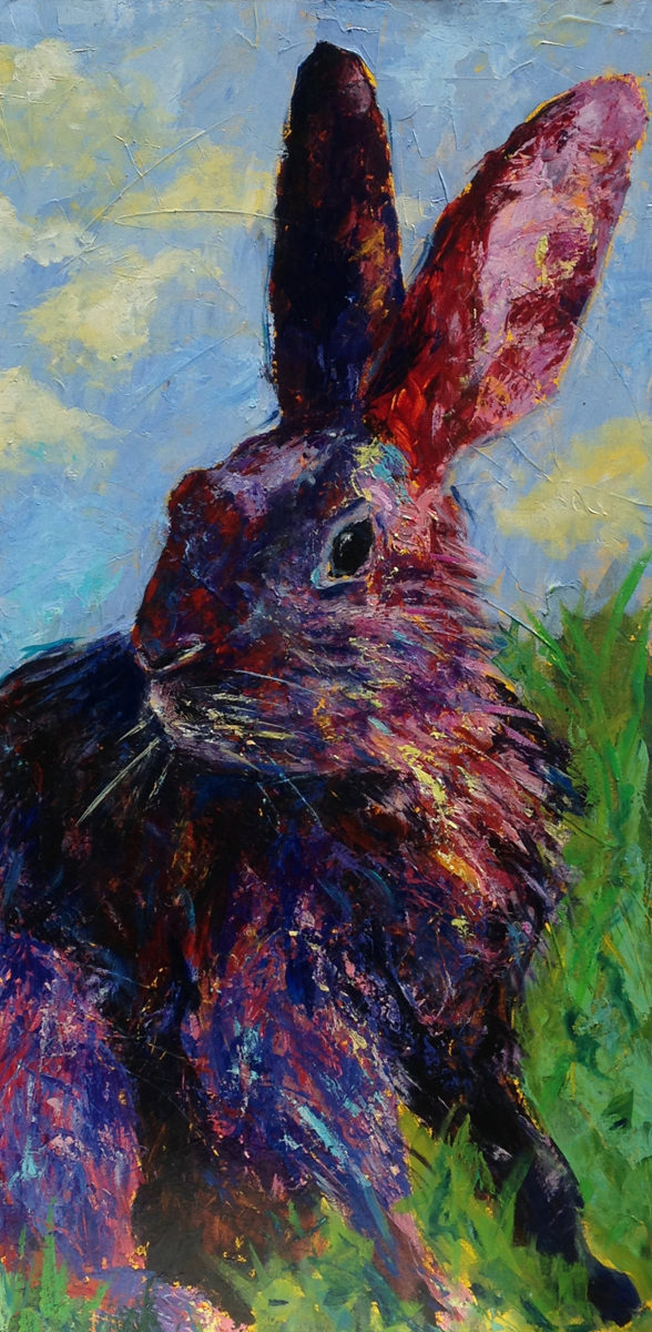 Pair of Hares: Alice (large view)