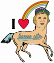 Digital Art-George Brett Unicorn