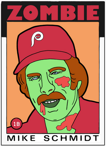 Digital Art-ZOMBIE MIKE SCHMIDT