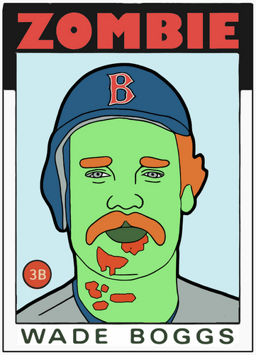 ZOMBIE WADE BOGGS