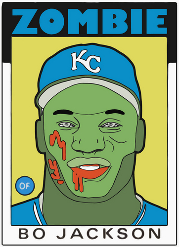 Digital Art-ZOMBIE BO JACKSON