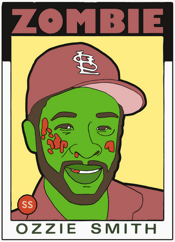 ZOMBIE OZZIE SMITH