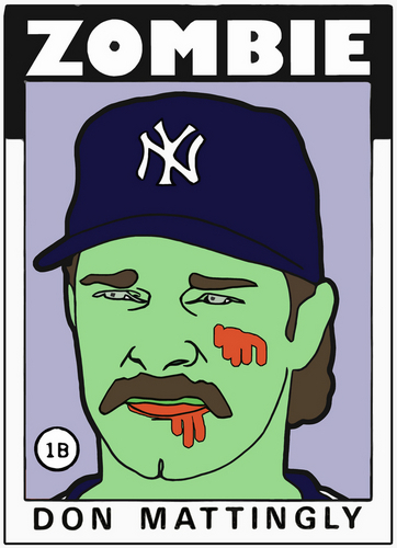 ZOMBIE DON MATTINGLY