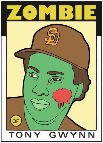 Digital Art-ZOMBIE TONY GWYNN