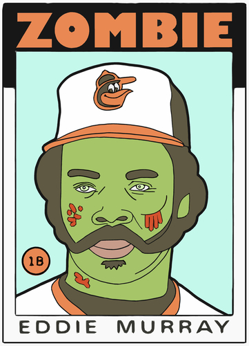 ZOMBIE EDDIE MURRAY