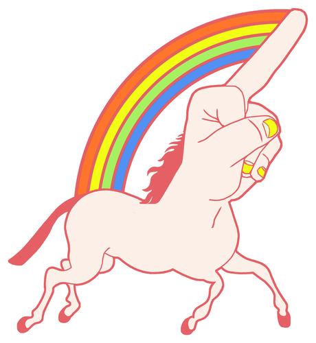unicorn aka fuckyounicorn #fuckyounicorn