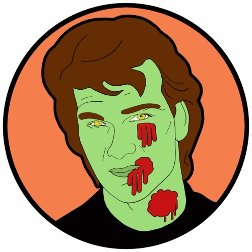 Digital Art-Zombie Patrick Swayze