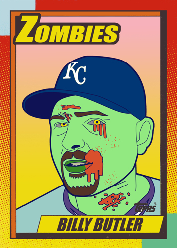 Zombie Billy Butler