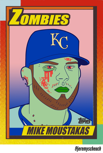 ZOMBIE MIKE MOUSTAKAS