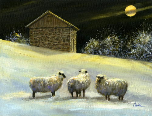 January Fleece by Jerry Cable Studio