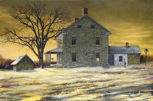 January Evening by Jerry Cable Studio