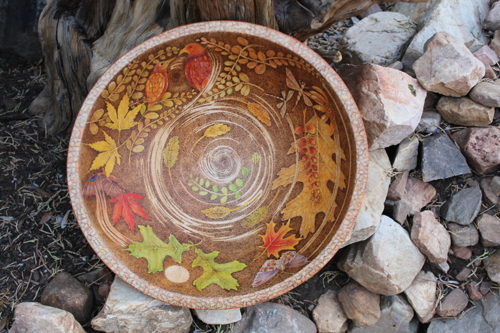 Autumn Bowl by jessica sandek