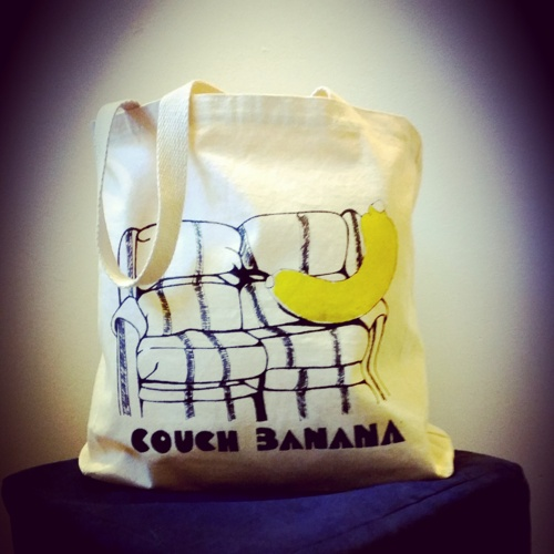 Couch Banana Tote