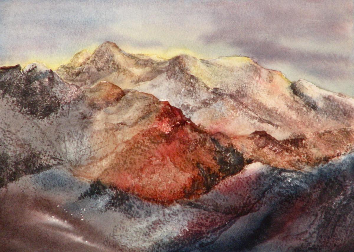 The San Juan Mountains, Colorado (large view)